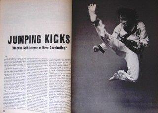 10 83 Kick Arnis Porfiro Lanada Jeong Sook Lee Black Belt Karate