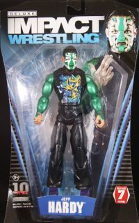 Jeff Hardy TNA Deluxe Impact 7 Toy Wrestling Action Figure
