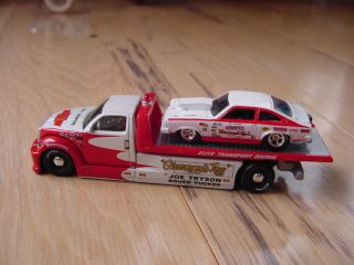 Bill Grumpy Jenkins Custom Car Hauler Hotwheels Vega Pro Stock