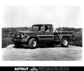 1981 Jeep J10 Honcho Pickup Truck Factory Photo