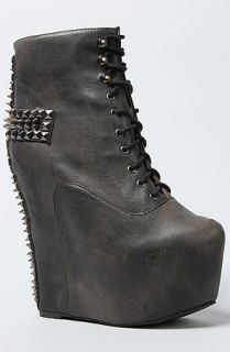 Karmaloop Jeffrey Campbell The Damsel Cross Shoe Black