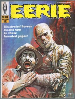 12 Classic Warren Horror Magazine Jeff Jones Johnny Craig Art