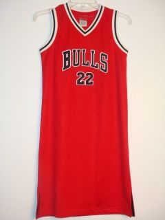NBA Chicago Bulls Jersey Dress 22 Williams s M L XL