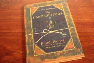 the last lecture pausch r andy zaslow jeffrey