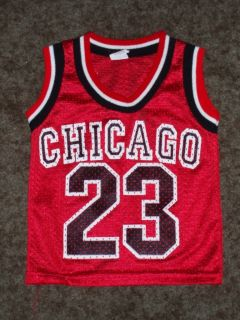 Chicago Bulls Michael Jordan Basketball Jersey Toddler Youth XS