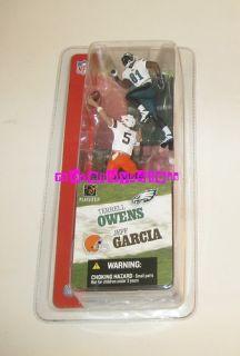 Sportspicks 3 inch Series Terrell Owens and Jeff Garcia 2 Pack
