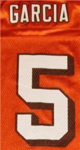 Cleveland Browns 5 Jeff Garcia NFL Jersey YM EXC Cond