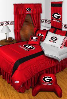 Georgia Bulldogs Twin Full Queen Comforter Bed Sets