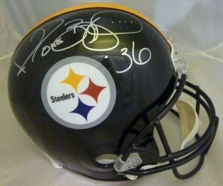 Jerome Bettis Autographed Signed Pittsburgh Steelers Full Size Deluxe