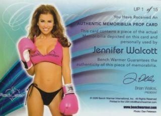 Benchwarmer Ultimate Jennifer Walcott Prop Boxing Glove