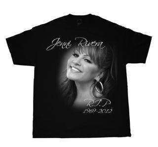 Jenni Rivera  R I P T Shirt Mexican Banda Singer Dead Lupio
