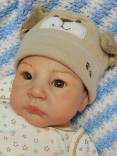 Reborn Baby Boy Joseph Jeremiah Sculpt by Adrie Stoete