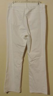 NYDJ Tummy Tuck White Bootcut not Your Daughters Jeans 12