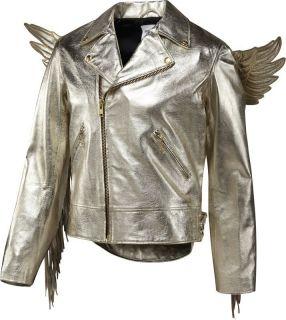Jeremy Scott Gold Wing Jacket Small