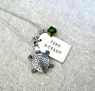 Call of The Wildman Inspired Turtle Man Live Action Charm Necklace