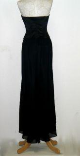 Jessica McClintock Sexy Chiffon Corset Dress Gown Size 4