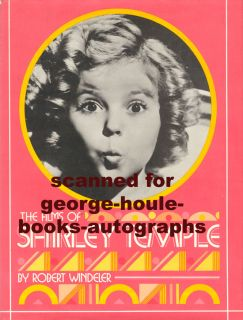 Boldly signed and inscribed by Shirley Temple in black ink toauthor