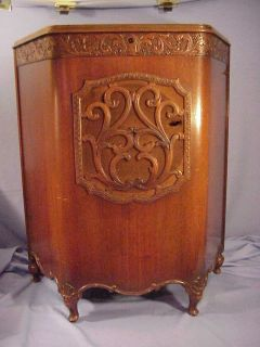 1920s 12 Jensen Radio Auditorium Dynamic Speaker DA5AC Cabinet Tube