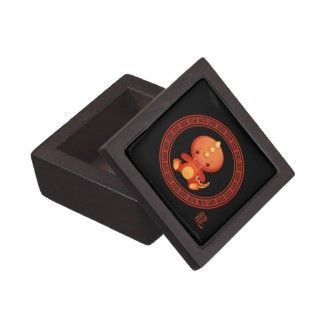 Ornate Chinese Year of the Dragon 2012 Premium Gift Box