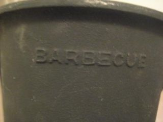 Vintage Hibachi Style Portable Grill Cast Iron New