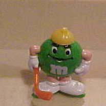 Pocket Surprise Winter Sport Green Hockey Player