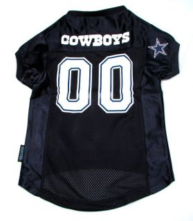 Dallas Cowboys Official NFL Jersey for Dogs