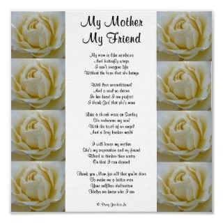 This poem was a mothers day gift for my Mom. I hope it brings as