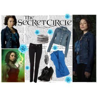 The Secret Circle TV Jessica Parker Kennedy Melissa Hero Screen