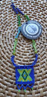 Africa Jewelry Zulu Love Letter Bead Pendant Necklace E