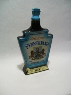 Jim Beam Bicentennial Decanter Bottle 1776 Beautiful