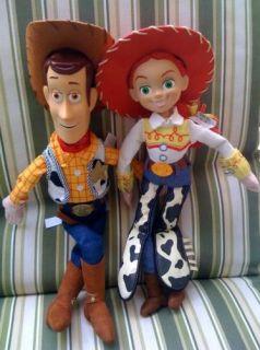 New Disney Toy Story 2 Jessie Woody 18 Plush Dolls