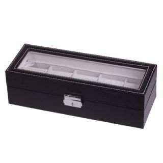 Slots Watch Jewelry Display Case Organizer Gift Box Storage