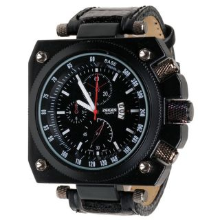 2011 Big Unusual Rock Heavy Black Men Quartz Watches
