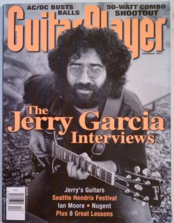Guitar Player Magazine December 1995 Jerry Garcia