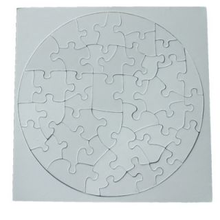 10 Pcs Blank Jigsaw Puzzle Baby Toy Hobby Sublimation Heat Transfer