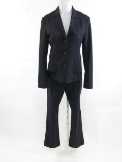 Jil Sander Navy Blazer Jacket Pant Suit Size 38