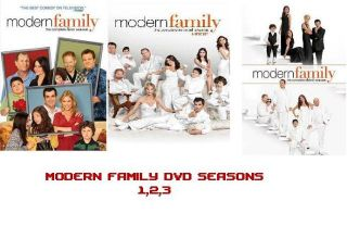 Modern Family DVD Set Seasons 1 2 3 Complete Seasons 1 3 Season 3 Just