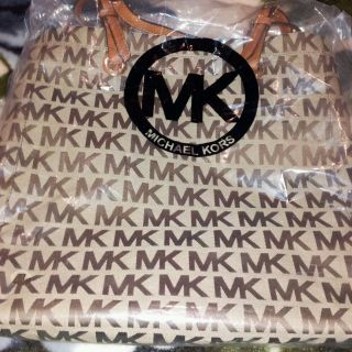 Michael Kors Signature E w Jet Set Tote Bag