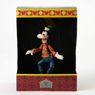 Jim Shore Disney Traditions Goofy Marionette Figurine New