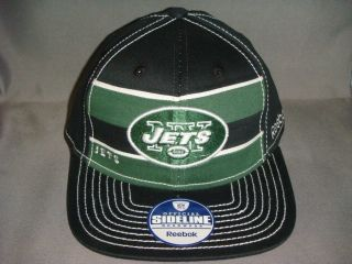 New York Jets NFL Player Reebok Sideline 2011 on Field Hat Cap