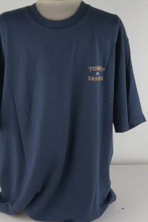 Men Relax crew neck tee shirt with short sleeves Brand logo printed on