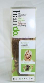 Jessica Simpson Ken Paves Hairdo 10 Straight Clip Hair Extensions
