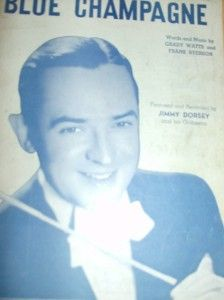 Vintage Big Band All Jimmy Dorsey 6 Pieces with Great Covers