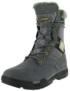 Coogi Hudson Mens Tall Suede Leather Outdoor Hiking Winter Boots Shoes