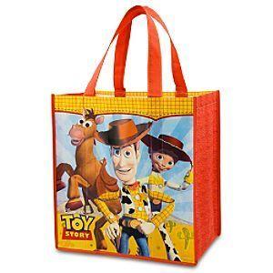 Toy Story Woody Jessie Bullseye Eco Tote Bag NWT Disney