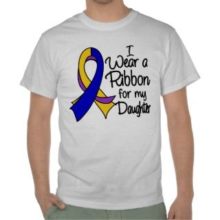 Daughter   Bladder Cancer Ribbon Shirts