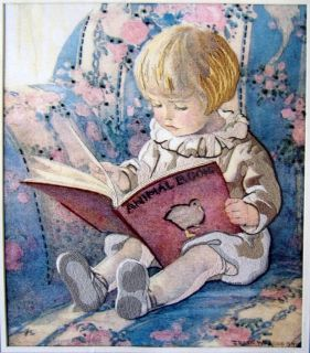 Crewel Favorite Book Kit 14 x16 Jessie Willcox Smith 1985