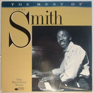1988 LP Jimmy Smith Best of Jimmie Smith The Blue Note Years B1 91140