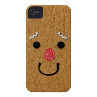 Gingerbread Man iPhone 4 Barely There Case iPhone 4 Covers