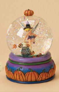 Jim Shore Disney Tinker Bell Halloween Tink Waterball 4023564
